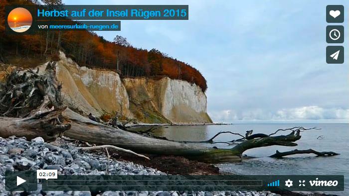 Der Herbst auf Rügen