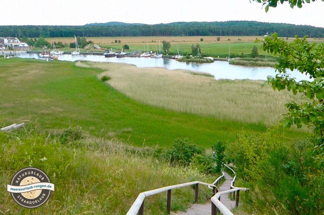 Ausblick von der Moritzburg über Baabe