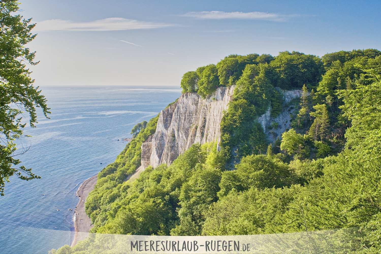 Besuche an Himmelfahrt die Kreidefelsen auf Rügen