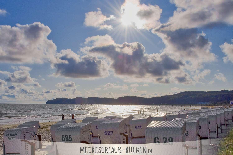 Sonniges Rügen - wie hier am Strand von Binz