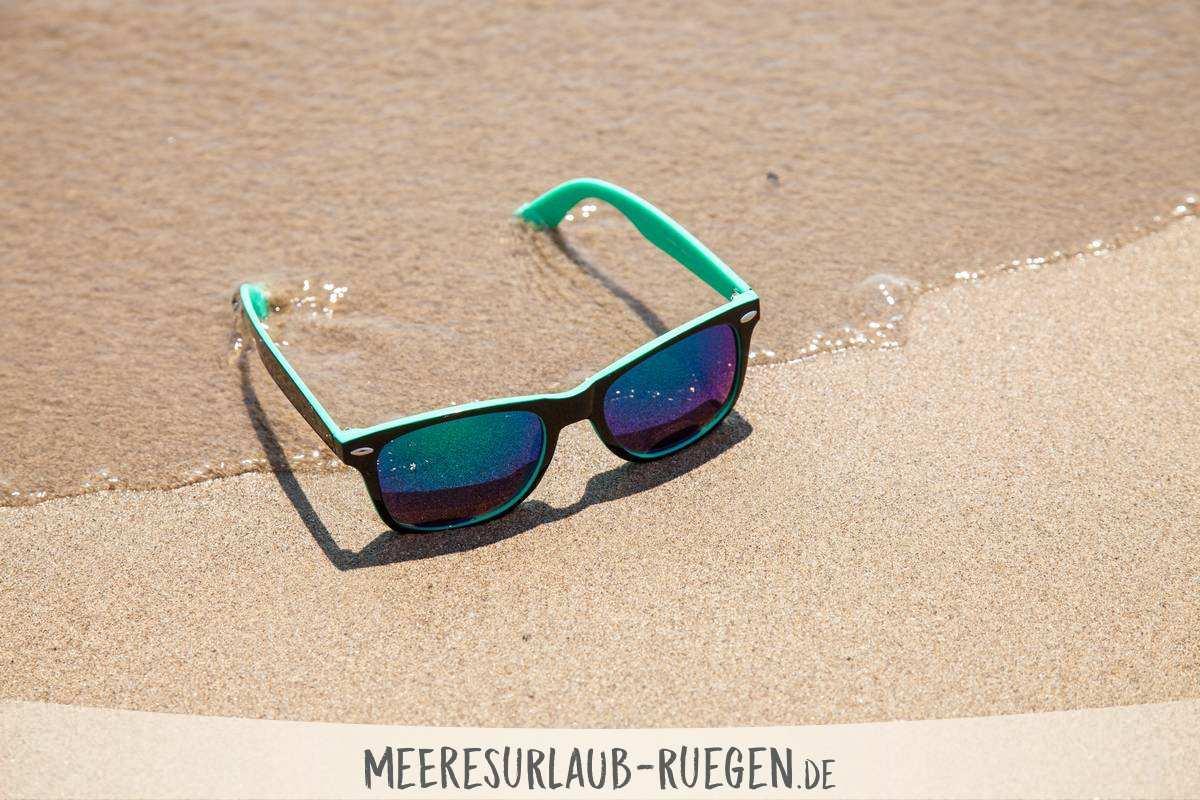 Die Sonnenbrille gehört dazu